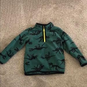 Carters 3T quarter zip fleece jacket